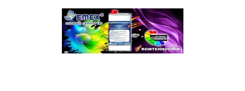 Diluant pentru Vopsele Auto si Speciale EMEX 2