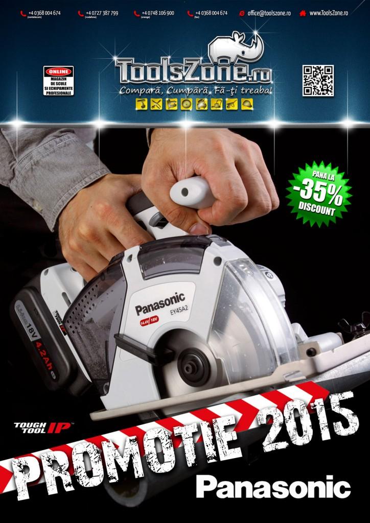 ToolsZone.ro - Promotie scule electrice profesionale cu acumulator Panasonic 2015 2