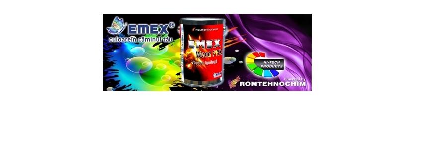 Vopsea Ignifuga Termospumanta EMEX WOOD PRX 2