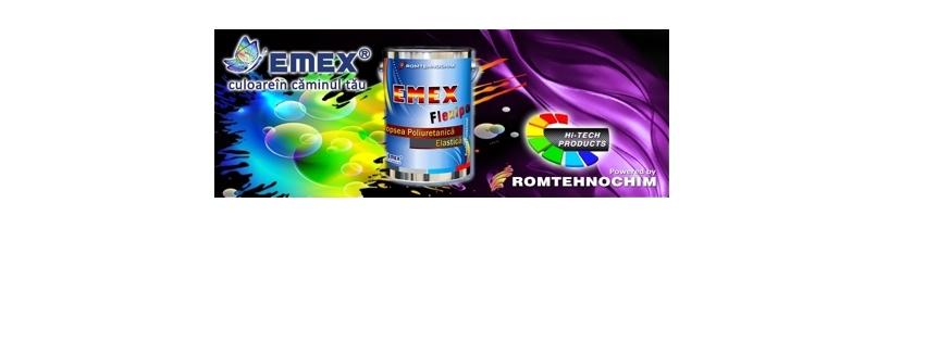 Vopsea Poliuretanica Elastica EMEX FLEXIPOL 2