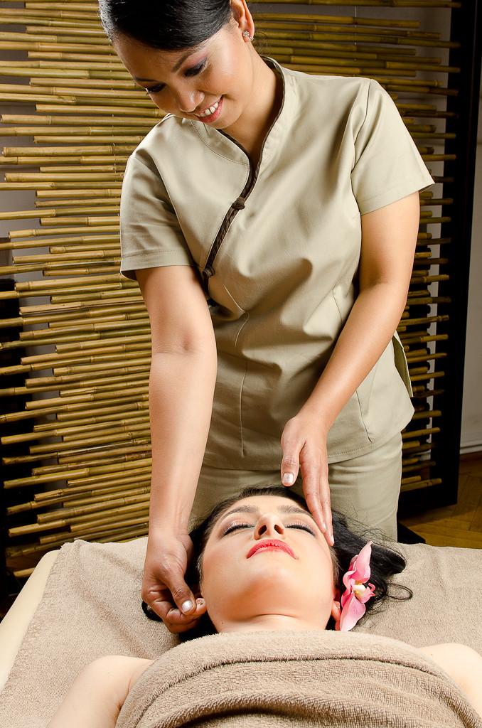 masaj facial unic si relaxant