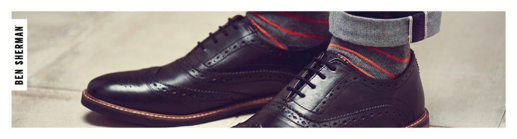 Pantofi barbati Ben Sherman din materiale de calitate