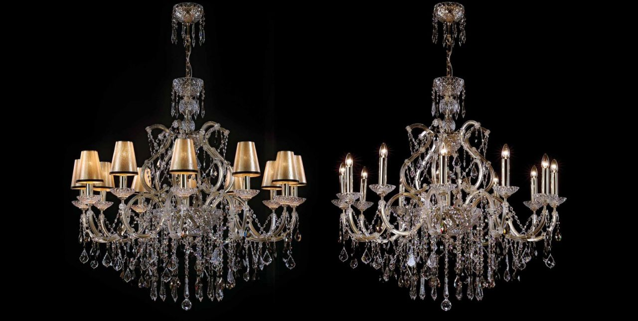 Modele variate de candelabre ieftine pe Decostores
