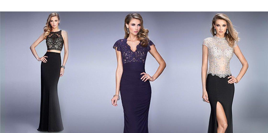 Alegeti acum rochii de seara floral, fuchsia sau gri pe ShopAlert