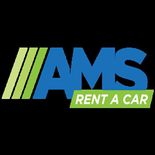 AMS Rent a car logo