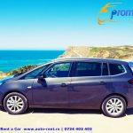 Noi reduceri la inchirierea unui Opel Zafira cu sapte locuri de la Promotor Rent a Car Bucuresti