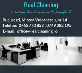 Contact firma de curatenie Real Cleaning