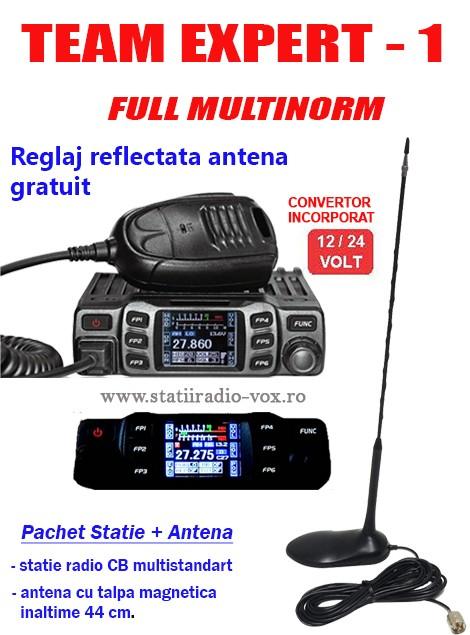 Statii radio emisie receptie si Antene auto 1