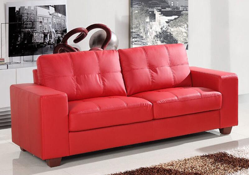 canapele rosii - cum le alegi