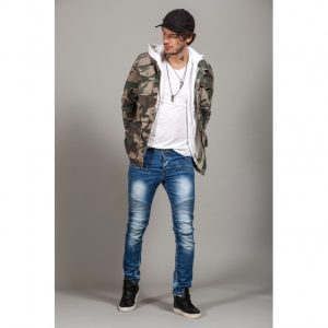 Geci de blugi military/army Kingz Jeans