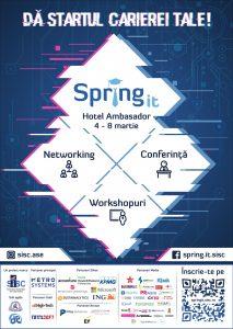 Primavara incepe cu o noua editie Spring IT! 3