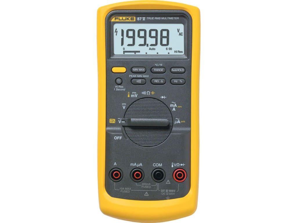 De ce este multimetrul digital Fluke 87 V in continuare atat de apreciat de specialisti? 1