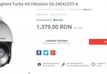 Camera de supraveghere Turbo HD Hikvision wdr