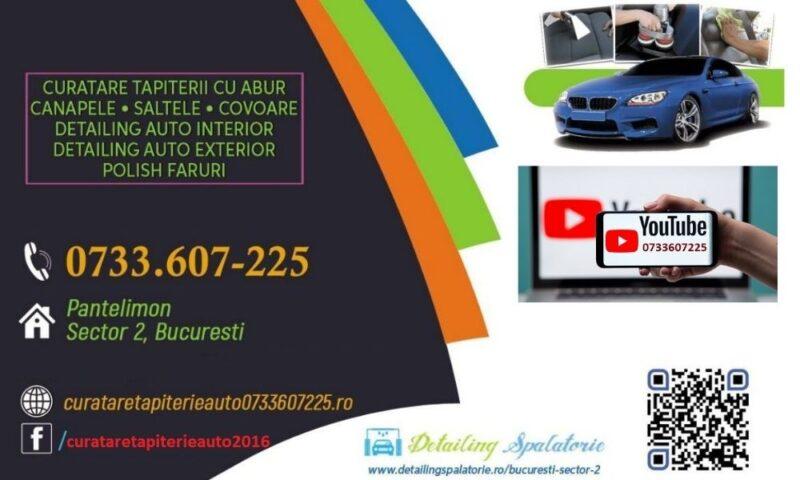 Curatare Tapiterie Auto 0733607225