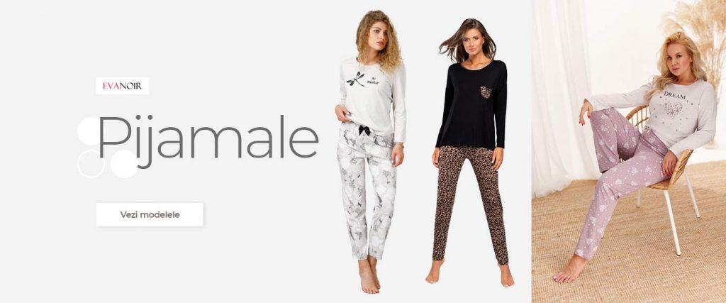pijamale dama bumbac