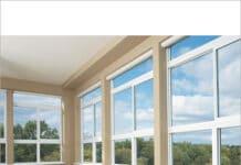 Tamplarie PVC cu geamuri termopane